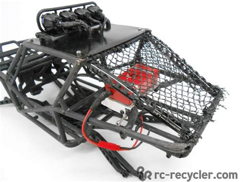Chassis Hsp Pangolin Axial Scx10 Wraith axial wraith fastback roll cage chassis w pro line led bar links roof panel ebay