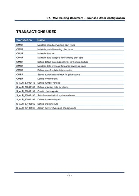 sap tutorial purchase order sap training document purchase order configuration