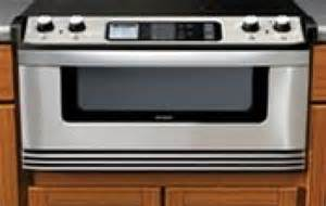 microwave drawer to debut in 2007 says sharp