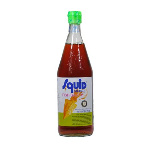 Squid Fish Sauce 300ml fish sauce squid brand 300 ml svilna pot