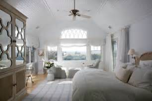 Plaid Window Treatments - hamptons beach house transitional bedroom new york by sgh designs inc
