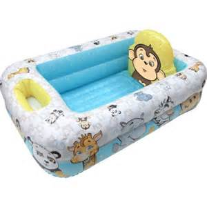 Baby Bathtub With Shower Garanimals Inflatable Baby Bathtub Walmart Com