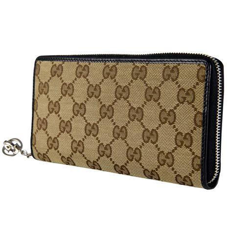 Gucci Wallet Zip Wp 60017 gucci canvas guccissima interlocking g zip around wallet