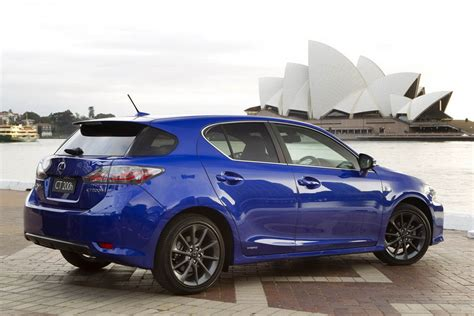 lexus ct 200h f sport unveiled the torque report
