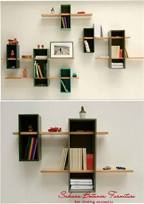 Kotak Pas 5 Papan jual rak dinding kotak papan kayu botania furniture