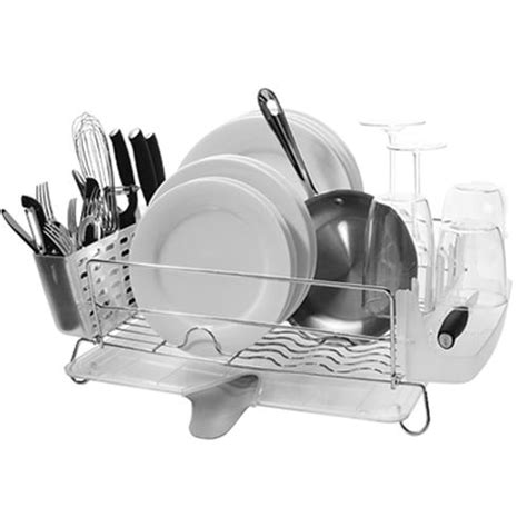 Oxo Folding Dish Rack best product oxo folding dish rack apartment therapy