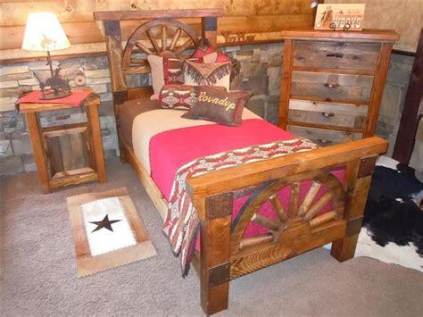 wagon wheel bedroom set bradley s furniture etc wagon wheel barnwood bedroom collection