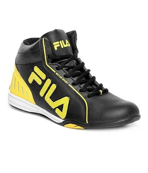 buy fila basketball shoes india fila isonzo 2201 black basketball shoes fisonzo676blk