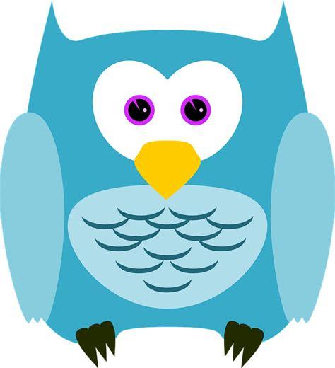 Animasi Burung Hantu Owl Bird free vector graphic owl bird animal plumage