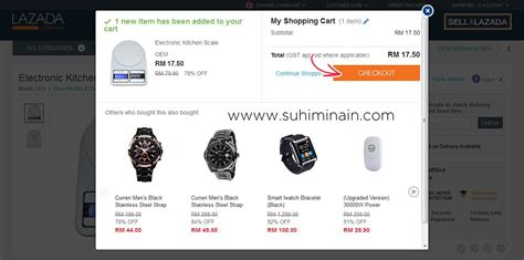 cara beli barang di lazada malaysia suhimi nain