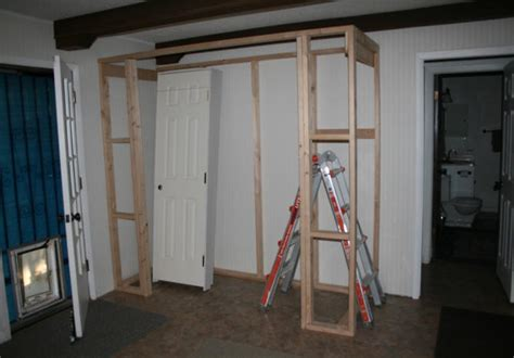 how to frame a closet door great tutorial on how to build a closet in an existing