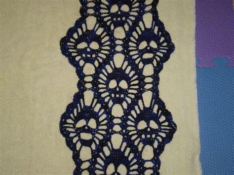knitting pattern skull scarf 308 best crochet knit skulls images on pinterest