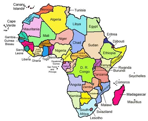 africa map easy map of africa quiz