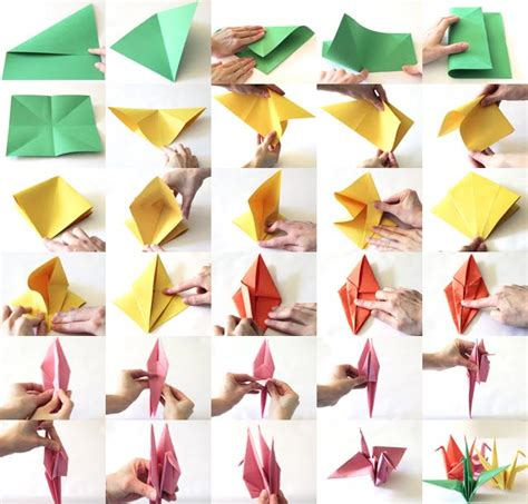 Folded Paper Cranes - origami fanatic yeung photography