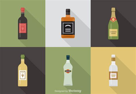 Free Alcoholic Beverages Vector Icons Download Free