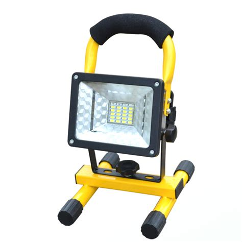 rechargeable led outdoor lights rechargeable led floodlight portable spotlight movable