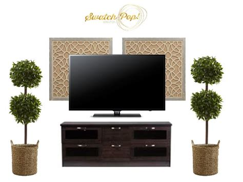 Lovely Living Room Tv Wall Ideas #5: 020d1b3e99ba69835c578b66643aedbf--decor-around-tv-decorating-around-a-tv.jpg