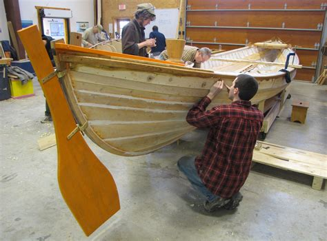 boat building building a whaleboat students tackle unusual project at