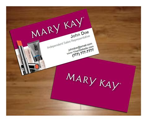 mary kay business cards templates free business card