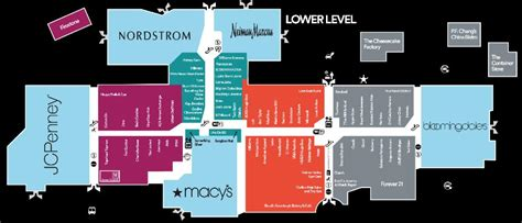 layout of fashion valley mall the tueshaus family usa route 74
