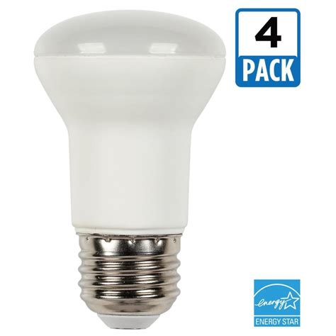 Led Light Bulb Pack Westinghouse 45w Equivalent Soft White R16 Dimmable Led Light Bulb 4 Pack 3515520 The Home Depot