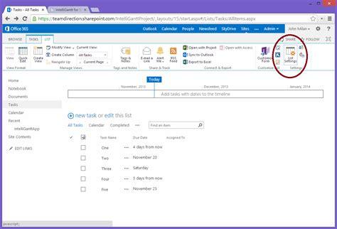 sharepoint task list template sharepoint 2013 icon list