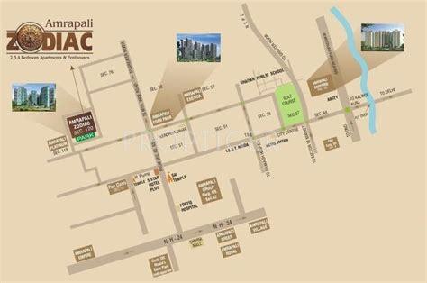 layout plan of amrapali zodiac amrapali zodiac in sector 120 noida price location map