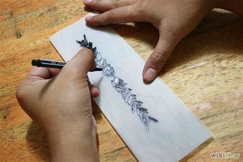 tattoo stencil paper at home make a home made temporary tattoos
