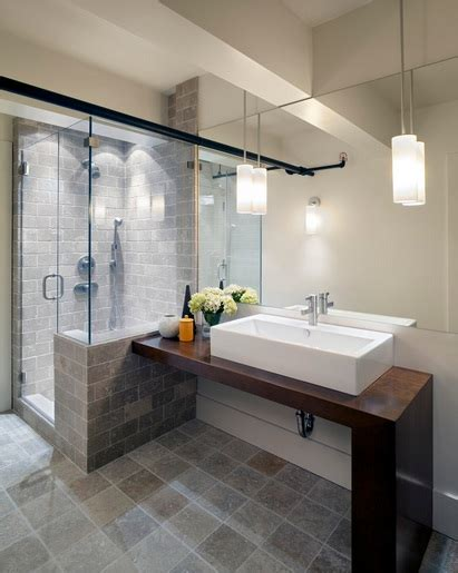 Contemporary Bathroom Lighting Ideas | contemporary bathroom pedant lighting ideas for small