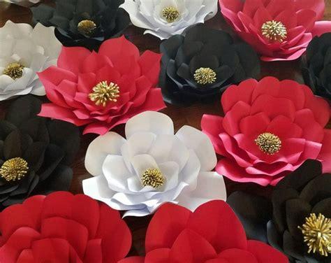 flores de hoja de maquina flores de papel faciles de hacer f c decor magazine