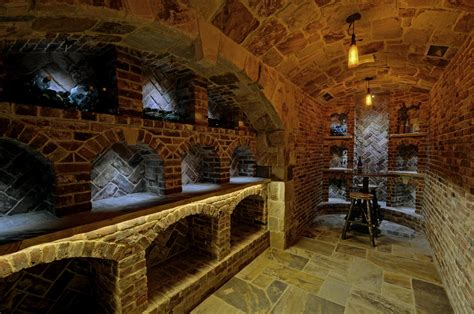 Root Cellar In Basement by Luxury Mountain Estate Chipmunk Hollow The Wine Cellar