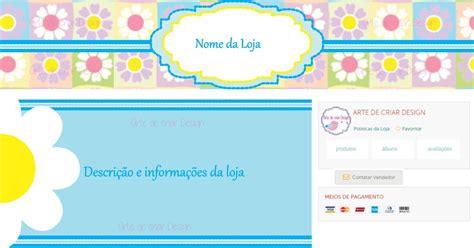 zoom no layout kit elo7 layout floral no elo7 arte de criar design
