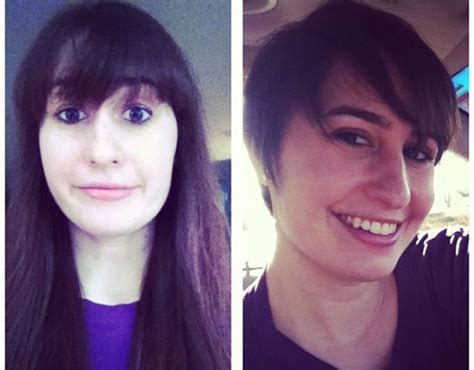 before and afters to long to short pixie cuts of 2015 before after long hair to short pixie haircut