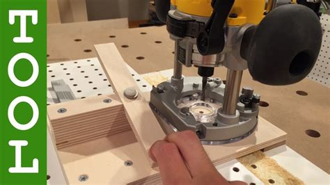 Router Shelf Pin Jig by How To Make A Shelf Pin Drilling Jig