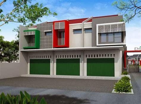 desain ruko untuk distro gambar rumah idaman desain ruko 2 lantai minimalis modern