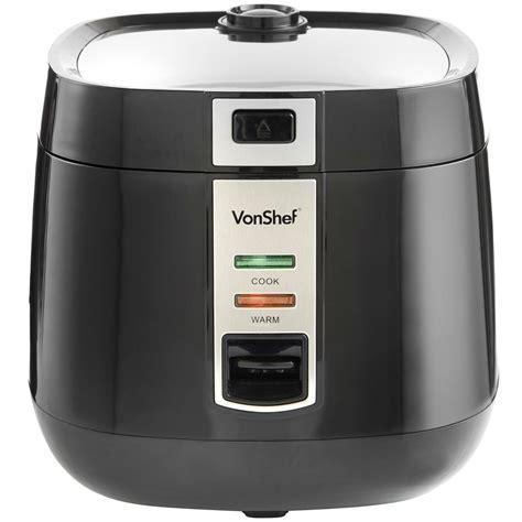 Rice Cooker Ukuran 10 Liter vonshef 220 volts rice cooker 1 8 liter 8 10 cups 220 240
