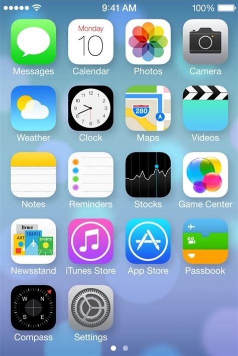 los iconos de ios  en iphoneros