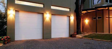 flush panel garage doors  overhead doors