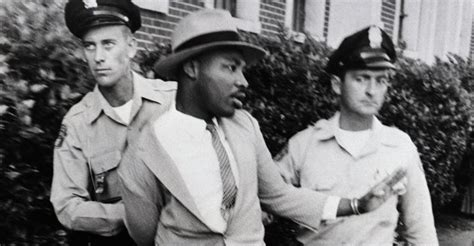 Martin Luther King Arrest Records King Leading March In Mississippi Martin Luther King Jr Mlk