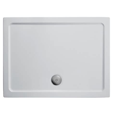 Shower Tray 1200 X 1000 Low Profile by Ideal Standard Synergy 1000mm Room Panel