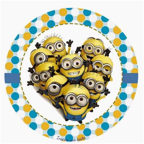 printable stickers minions despicable me free printable toppers labels or stickers