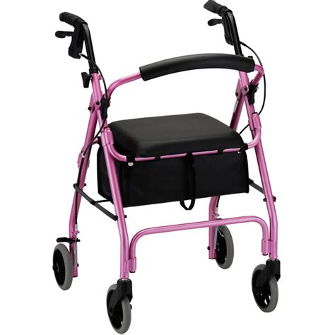 rolling walker with seat medicare ortho med cruiser deluxe classic 4202c rolling walker