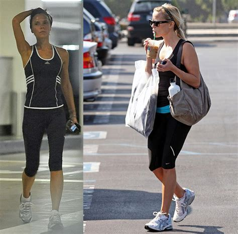 Reese Witherspoon To Beckham Look At Whos Wearing Your by You Spin My Right Runningonhungrydotcom