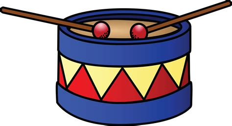 free images clipart free clipart of a drum