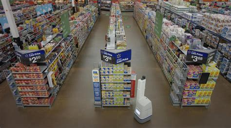 robot walmart walmart robots makes shelve scanning at its stores a amyx