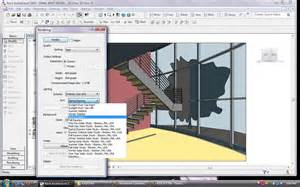 Home Design Software List bim revit architecture 2009 render dialog box