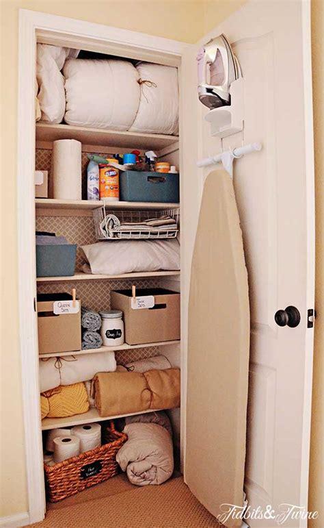 linen closet makeover tidbits twine