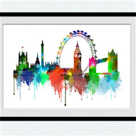 Home Design Bedding Best London Skyline Wall Art Products On Wanelo