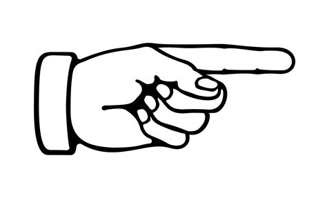 pointing finger clipart pointing clipart clipart collection pointing