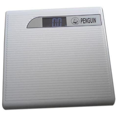 Timbangan Berat Badan Elektronik penguin timbangan badan elektronik 150kg white